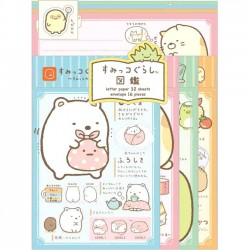 Sumikko Gurashi Characters Letter Set