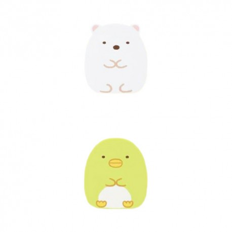 Sumikko Gurashi Shirokuma & Penguin Clips Set