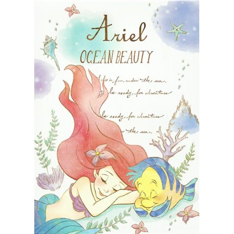 Ariel Ocean Beauty Memo Pad
