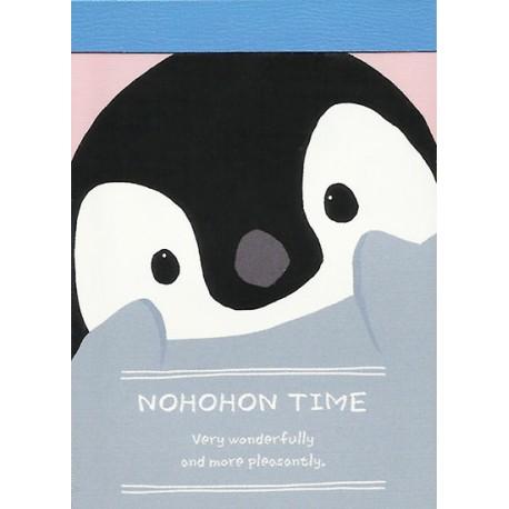 Nohohon Time Mini Memo Pad