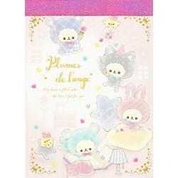 Plumes de L'Ange Mini Memo Pad