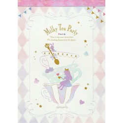 Bloco Notas Milky Tea Party