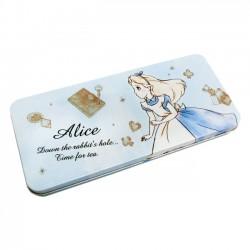 Estojo Lata Alice Tea Time