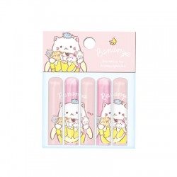 Bananya Nyanko Pencil Caps
