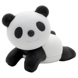 Goma Panda Acostado