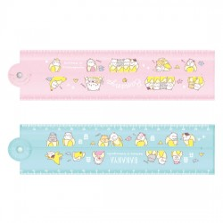 Bananya Nyanko Foldable Ruler