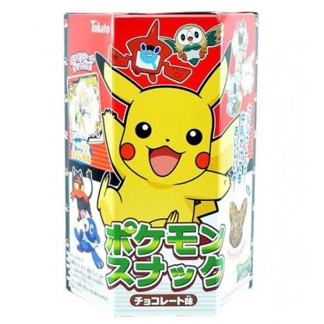 Pokémon Corn Snack Chocolate