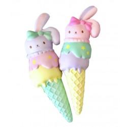 Squishy Sweet Bunny Triple Ice Cream