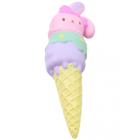 Sweet Bunny Triple Ice Cream Squishy - Kawaii Panda - Making Life Cuter