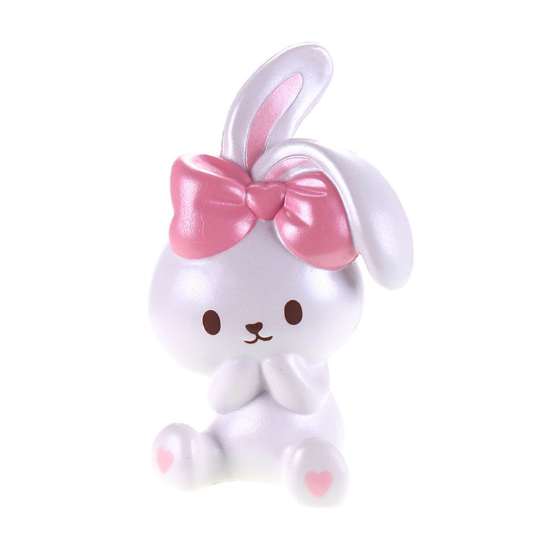 Squishy Bunny : Sweet Bunny Pearlized Squishy - Kawaii Panda - Making Life Cuter