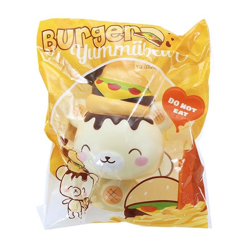 Squishy Yummiibear : YummiiBear Burger Squishy - Kawaii Panda - Making Life Cuter