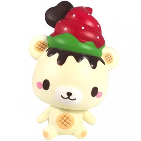 Squishy Yummiibear : YummiiBear Strawberry Squishy - Kawaii Panda - Making Life Cuter
