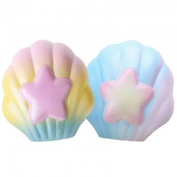 YummiiBear Mermaid Seashell Squishy