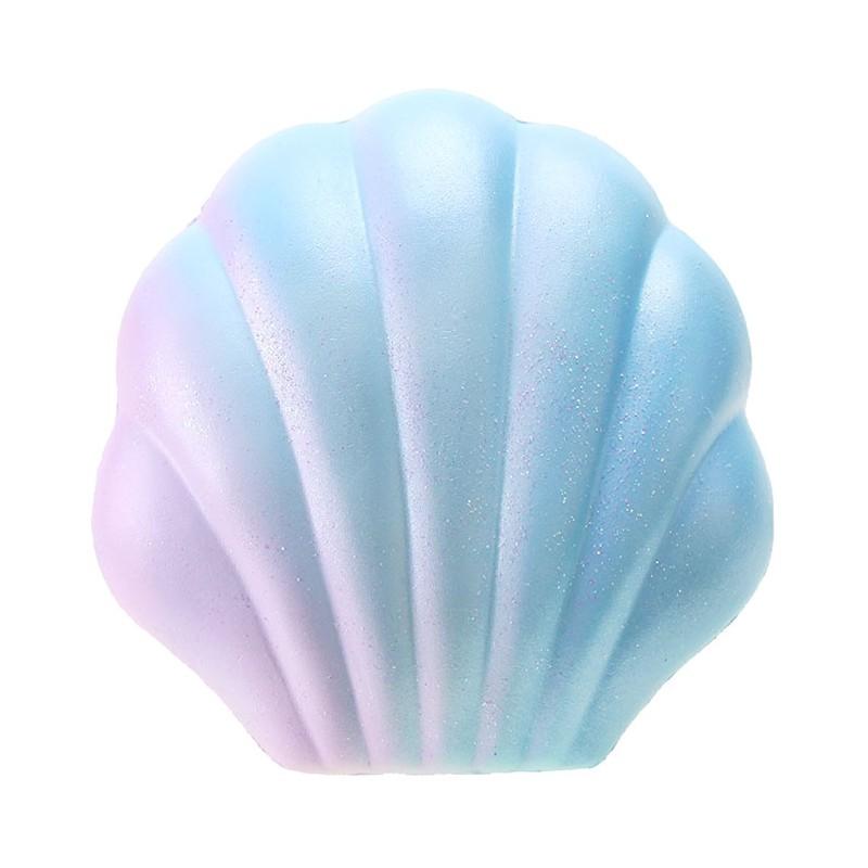 YummiiBear Mermaid Seashell Squishy