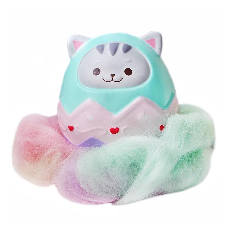 Squishy Panda Egg : Luna Kitty Easter Egg Squishy - Kawaii Panda - Making Life Cuter