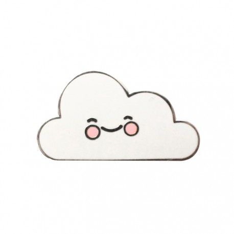 Cheeky Cloud Enamel Pin