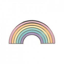 Pin Pastel Rainbow