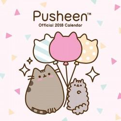 Calendário Parede Pusheen 2018