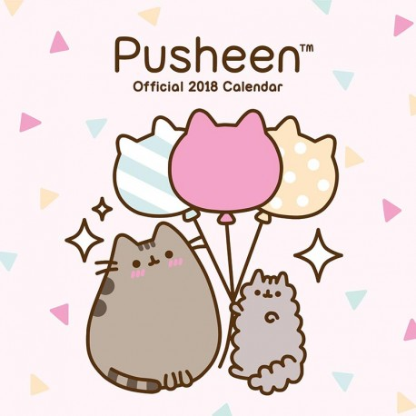 Pusheen 2018 Wall Calendar