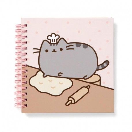 Image of: Cat Pusheen Chef Notebook Coloring Page Pusheen Chef Notebook Kawaii Panda Making Life Cuter