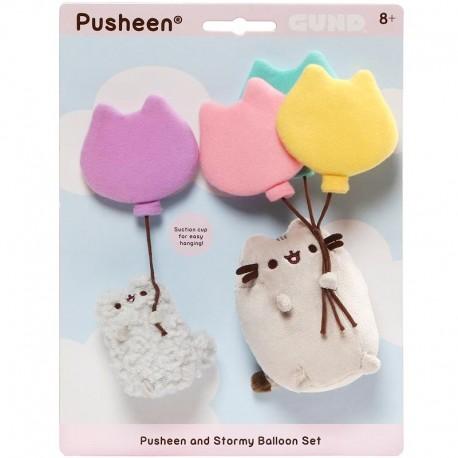 Set Peluches Pusheen Balloons