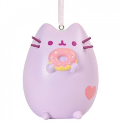 Pusheen Purple Pastel Ornament