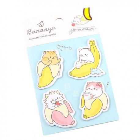 Bananya Nyanko Sticky Notes