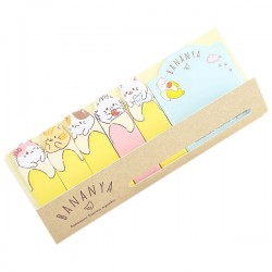Bananya Nyanko Index Sticky Notes