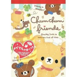 Chum Chum Friends Memo Pad