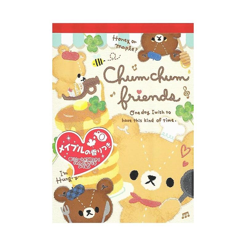 Chum Chum Friends Memo Pad Kawaii Panda Making Life Cuter