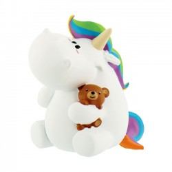 Pummel Unicorn Teddy Bear Mini Figure