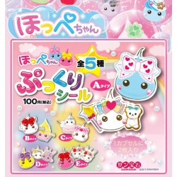 Stickers Puffy Hoppe-Chan Gashapon