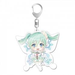 Hatsune Miku Fairy Racing Miku Keychain