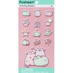 Pegatinas Puffy Pusheen Pastel