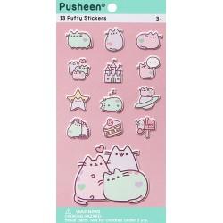 Stickers Puffy Pusheen Pastel