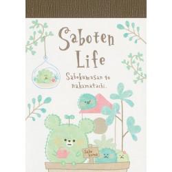 Mini Bloco Notas Saboten Life