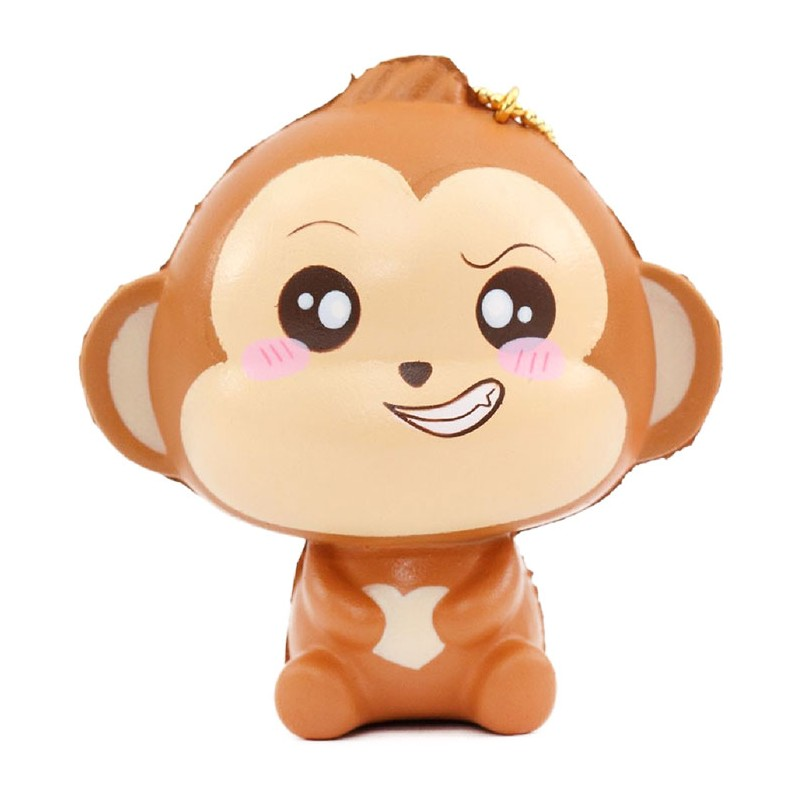 Baby Cheeki Monkey Squishy Kawaii Panda Making Life Cuter