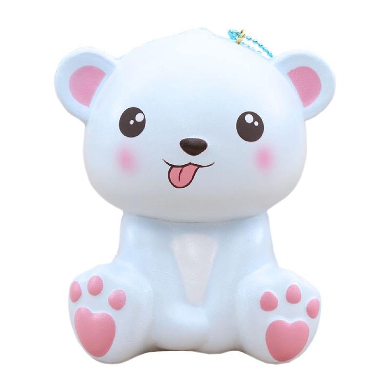 Happy Polar Bear Jumbo Squishy Kawaii Panda Making