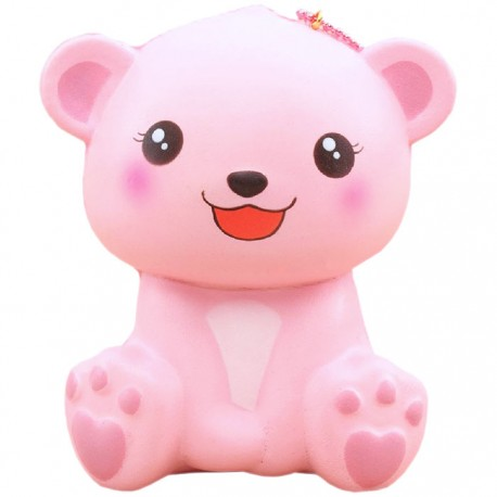 Happy Polar Bear Jumbo Squishy