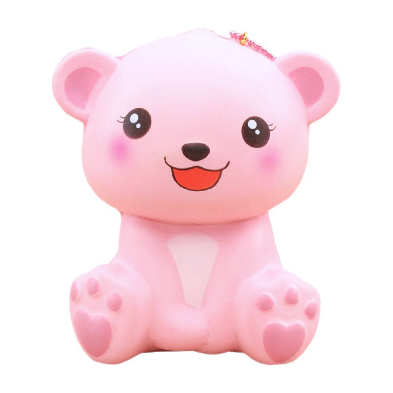 Happy Polar Bear Jumbo Squishy - Kawaii Panda - Making Life Cuter