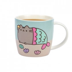 Caneca Mágica Pusheen Mermaid