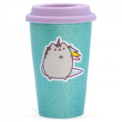 Pusheenicorn Glitter Travel Mug