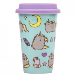 Pusheenicorn Celestial Travel Mug