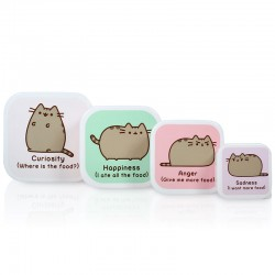 Set Caixas Snack Pusheen