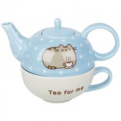Set Bule & Chávena Pusheen Tea For One