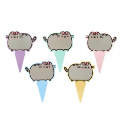 Pusheen Cake Toppers Set