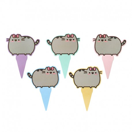 Set Pinchos Pastel Pusheen