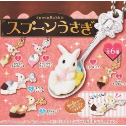 Miniaturas Spoon Rabbit Gashapon