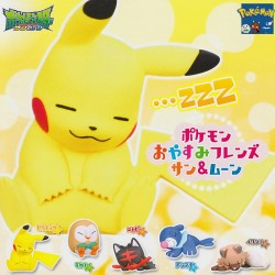 Mini Figura Pokémon Oyasumi Friends Gashapon