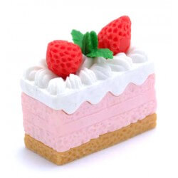 Whipped Cream Cake Eraser